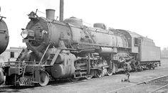 L&N RR 2-8-2 locomotive #1553