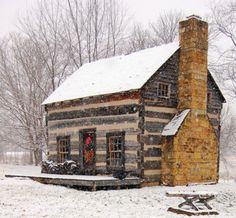 Nice old cabin. How many family members do you think lived here in the old days? Seven? Nine?