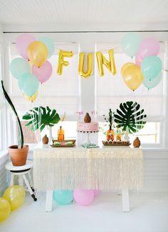 "Tropical & Sweet ""Party like a Pineapple"" Bash"