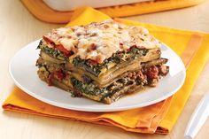 Veggie-rific Noodle-Free Lasagna Recipe | Hungry Girl