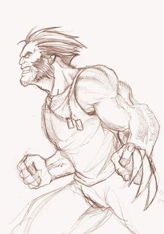 Marvel Drawing Wolverine Sketch by ZacBrito on deviantART - Marvel Drawings, Cool Drawings, Drawing Sketches, Marvel Avengers, Marvel Art, Comic Books Art, Comic Art, Vexx Art, Superhero Sketches