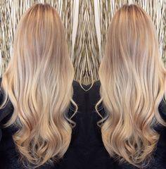 Dream blonde Hair! Cabelo loiro dos sonhos!