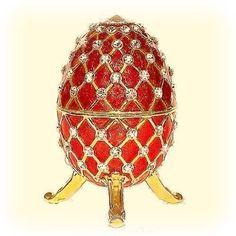 Faberge Egg Trinket Box