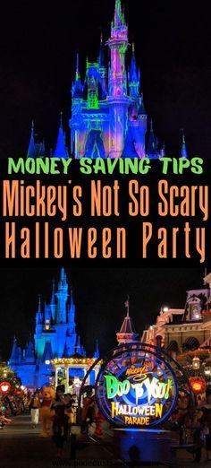 Money Saving Tips for Mickey's Not So Scary Halloween Party Disney World Florida, Disney World Parks, Disney World Vacation, Disney Cruise Line, Disney Vacations, Disney Travel, Halloween Parade, Disney Halloween, Scary Halloween