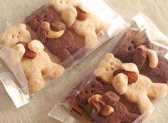 ★【レシピ】くまクッキー - *おいしい香り*自家製酵母パン教室「Céréales(セレアル)」