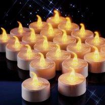 21cm Haute Fuchsia Glo Candles 6 X Color/é Bougies D/îner