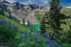 Blue Lakes  Mt. Sneffels Wilderness   Near Ridgway Colorado