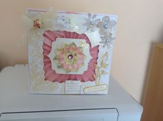 Made by Carol Manifield from Nottingham #CardMaking #TatteredLace