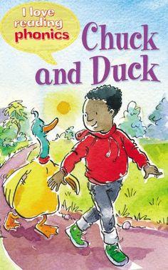 Chuck and Duck (I Love Reading Phonics Level 2) by Ticktock http://www.amazon.com/dp/1848987560/ref=cm_sw_r_pi_dp_GtdOtb0E7BZGWE54