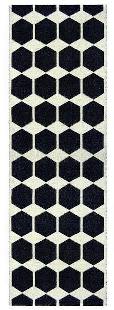 The Black Anna Runner measures 27.5 by 86.6 inches and is $132.22 at Scandinavian Design Center.