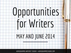 90 writing competitions, publication opportunities, and fellowships
