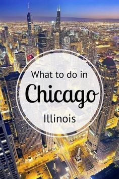 What to do in Chicago - insider travel tips by a local on where to eat, drink, sleep, shop, explore and so much more!