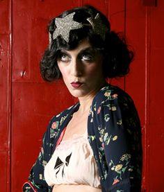 Sarah Sophie Flicker makeup from The Debt Rattle
