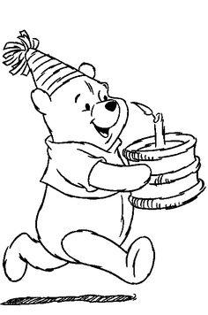 Pooh heeft iets te vieren