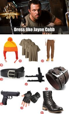 Dress like Jayne Cobb from Firefly - Costume & Cosplay Guide Firefly Movie, Firefly Jayne, Firefly Serenity, Firefly Costume, Firefly Cosplay, Movie Costumes, Adult Costumes, Cosplay Costumes, Halloween 2019