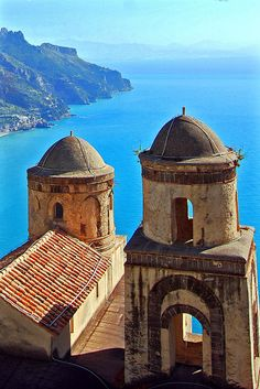 A blue day in Ravello