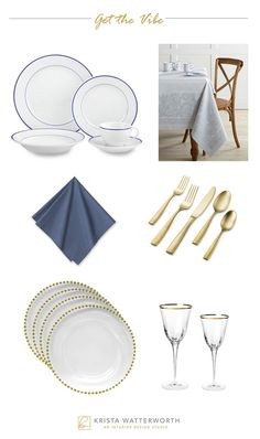 French Sophisticate Place Setting, Krista Watterworth Alterman