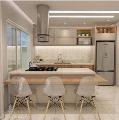 🔍🔍 Cozinha linda e funcional? Temm!!!! 😍😍😍 Projeto de @arq092.arquitetura