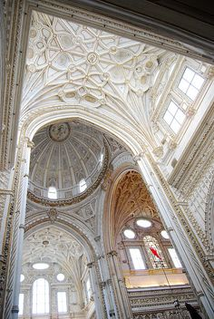 Cathedral in Cordoba, Spain