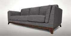 Ceni Pyrite Grey Sofa - Sofas - Article | Modern, Mid-Century and Scandinavian Furniture