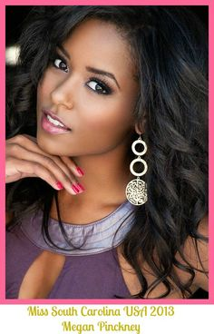 Get to know Miss South Carolina USA 2013 , Megan Pinckney ! I got the chance to interview her for my blog ! http://www.allglamallthetime.com/2013/02/miss-south-carolina-usa-2013-q-interview.html