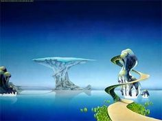 With a Roger Dean album cover you could spend more time looking at the sleeve than listening to the album