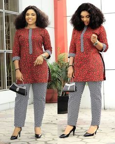 2019 African Clothing Styles : Cool Latest Styles You Should Rock NextHi ladies. African Print is a vibrant material with rich and colorful patterns. Ankara Dress Styles, African Fashion Ankara, Latest African Fashion Dresses, African Dresses For Women, African Print Dresses, African Print Fashion, Africa Fashion, African Attire, African Prints