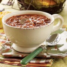 Snowy Day Chili Recipe | MyRecipes.com