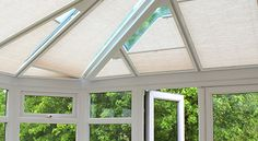 Blinds for conservatory roof- The conservatory is a wonderful place to relax all through the year.