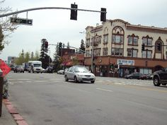 Telegraph Avenue with 40th Street - Berkeley