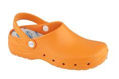 feliz caminar flotantes naranja