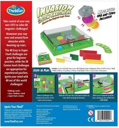 Thinkfun 44001021 Invasion of The Cow Snatcher-Mooove The Magnets Logic Game,