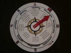 Beatitudes scavenger hunt and compass