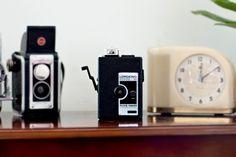 Lomokino 35mm Movie Camera - crank it - super cool stop motion/silent film effect.