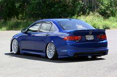 Slammed Acura TSX   VIP Status Wheels - Acura TSX Club : Acura TSX Forum