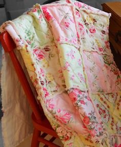 country rag quilt