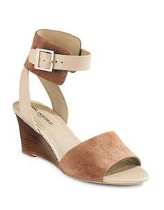 Karl Lagerfeld | Amelie Combo Wedge Sandals | Hudson's Bay