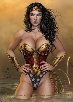 Wonder-Woman Art: Armando Huerta