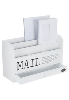 Riverdale - MAIL - Office accessory - white