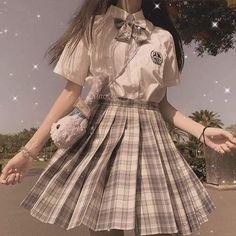 Old Fashion Dresses, Teen Fashion Outfits, Mode Outfits, Girl Outfits, Kawaii Fashion, Lolita Fashion, Cute Fashion, Korean Girl Fashion, Ulzzang Fashion