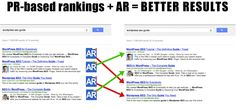 Amazing post about how Google's AuthorRank will filter PR-based rankings to provide better results.