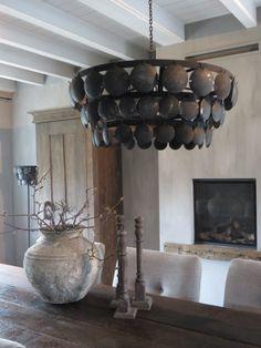 Lamp schijf – Landelijk en Sober Wonen