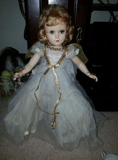 "1949 Madame Alexander Fairy Queen 18"" Doll  #madameAlexander #DollswithClothingAccessories"