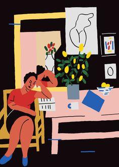 Some Matisses - Karl-Joel Lrsn