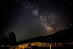 Milky Way over Sun Valley, Idaho on the night of July 31, 2016 via our friend John Boydston. The brightest region in the starlit trail in this…