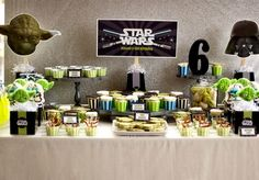 FIESTA INFANTIL STAR WARS PARTY IDEAS by decoracionenfiestasinfantiles.blogspot.com
