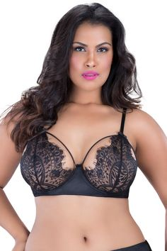 Eyelash Lace Bra, this lace bra that offers extra support comes in two beautiful colors