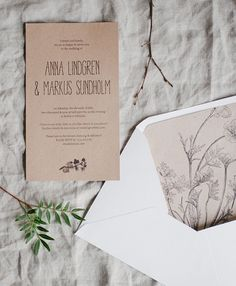 Free printable rustic invitations and envelope liners| Printattavat rustiikit kutsut - Best Day Ever