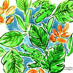 Floating toward SUMMER. Two days until National Wear Your Lilly Day. #lilly5x5