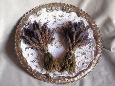 Dried Lavender bouquet from Crete - Two Home grown lavender bouquets herbal recipes of cretan herbs- natural aromatic herbal tea- decoration